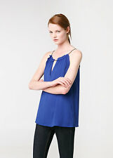 Woman halter top,blouse size S UK 8 new,mango.mng