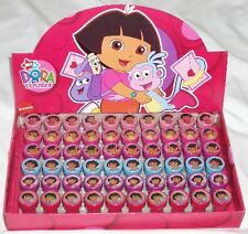 10 Nickelodeon Dora Explorer Self Inking Stamper Pencil Topper Gift Bag Filler