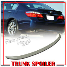 Painted For Honda Accord 9th 4DR Sedan Sport Rear Trunk Spoiler 2013-2015 ABS