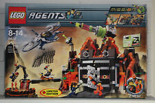 Lego Volcano Base (8637) Agents Mission 8 New in Box Limited Edition