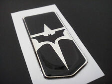 93-02 Chevrolet Camaro Z28 SS RS Front Bumper Emblem BATMAN Chrome Black