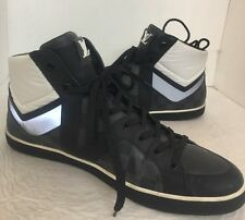 Louis Vuitton Men Hightop Shoe Damier Print  Leather Lace Size 11