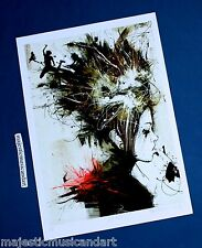 RUSS MILLS PYRITES ART PRINT SIGNED & NUMBERED ARTIST PROOF 2008 MINT RARE