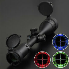 "3-9x50 AOL Rifle Scope RGB Mid-dot Zero Locking Resetting 1"" Scope Sights"