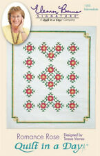 Quilt in a Day Quilt Pattern Romance Rose Eleanor Burns New Store Stock