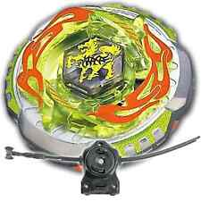 Beyblade Rock Zurafa (Giraffe) Metal Masters 4D BB-78 LL2 Launcher and Rip Cord