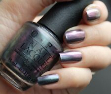 OPI San Francisco ~PEACE & LOVE & OPI~ Holographic Purple Green Nail Polish F56