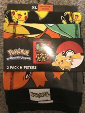 Mens POKEMON hipster briefs 2 Pack Official Primark size XL