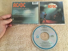JUST UNDER MINT!! AC/DC LET THERE BE ROCK ORIGINAL ATLANTIC ATCO 36-151-2 USA CD