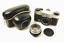 Zeiss Ikon SL 706 TM Single lens Reflex Camera with 50mm Ultron f1.8, Cap & Case