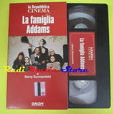 film VHS LA FAMIGLIA ADDAMS Barry Sonnenfeld LA REPUBBLICA CINEMA (F70) no dvd