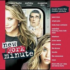 New York Minute Soundtrack w/ Gold Promo Stamp (Promo CD)