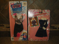 Vintage Lot 2 New NIP Flair Dynamite In Denim & Young 'n Lovely Barbie Clothes