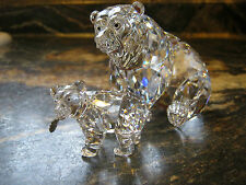 Swarovski 2000 GRIZZLY BEAR with CUB
