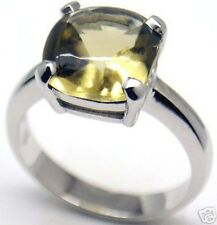 Gorgeous Woman Quartz Silver Ring, S 6 & 6.5 #152