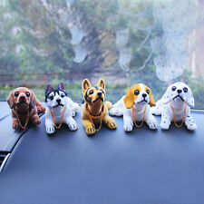 Easy Carring Cute Car Interior Doll Decoration Shaking Head Nodding Dog SW