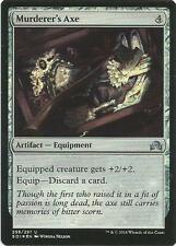 1x Foil Murderer's Axe Magic the Gathering MTG Shadows Over Innistrad