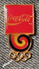 1988 Coca Cola Olympic Pin~Coke~Seoul Korea Games~Vintage 30 years old in 2018