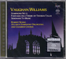 VAUGHAN WILLIAMS / THOMAS TALLIS  - SACD