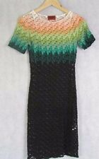 MISSONI SIZE 42 OR UK 8-10  STRETCH KNIT DRESS AUTHENTIC
