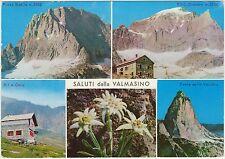 SALUTI DALLA VALMASINO - VEDUTINE - VAL MASINO (SONDRIO) 1970