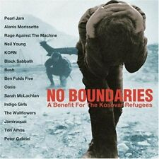 No Boundaries: A Benefit For The Kosovar Refugees by Various Artists CD