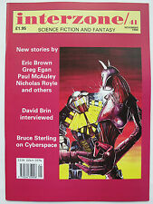 UK SF Magazine - INTERZONE No. 41 (1990) – Greg Egan