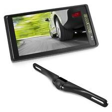 "Pyle PLCM9200 9.2"" TFT/LCD Mirror Monitor +License Plate Backup color Camera NEW"