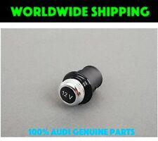 AUDI 12V Volt socket cigarette lighter dummy cover GENUINE New