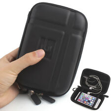 5 inch Hard Shell GPS Carry Case Bag Zipper Cover Pouch for GPS Cell Phone