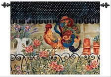 Fabulous Fowl ~ Rooster Grande Tapestry Wall Hanging