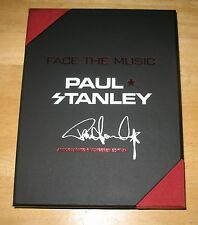 Paul Stanley Face the Music: A Life Exposed Deluxe Leather AUTOGRAPH SIGNED COA