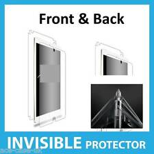 Apple iPad Mini 4 INVISIBLE Screen Protector Shield Full Skin FRONT AND BACK