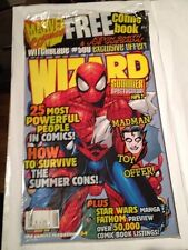 Wizard Magazine # 84 Spiderman Cover