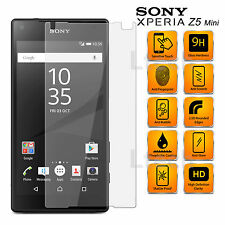 Sony Xperia Z5 Compact Anti Scratch Transparent Tempered Glass Screen Protector