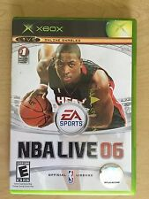 NBA LIVE 06 XBOX Microsoft Xbox video game Sports 2005 New in Factory Sealed box