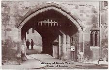 AK Post Card GB Großbritannien Gateway of Bloody Tower of London - ungelaufen