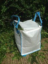 Garden Waste Storage Bags Heavy Duty 30x30x46cm 40 ltr Recycling Handles Log