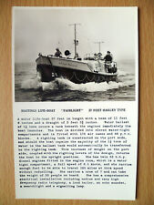 37 FEET OAKLEY TYPE: HASTINGS LIFE BOAT ''FAIRLIGHT''- Real Photo Postcard