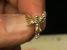Guardian ANGEL PIN # 8919 3D front n back angel depicted 100% 14 Kt 1.8 Gr $99