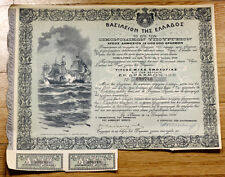 Greece 1906 Bond for 1821 War of Independance to Hydra,Spetses & Psara Islands