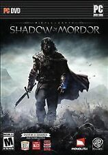 PC Middle-Earth: Shadow of Mordor |BRAND NEW FACTORY SEALED Computer