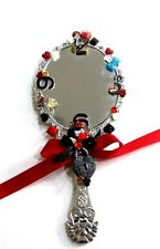 Disney Queen Of Hearts Alice In Wonderland Handheld Bathroom Vanity Mirror