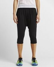 Women's Nike Avant Move Jfs Training Capris Pants Black Small 688450 010