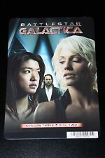 COLLECTIBLE BATTLESTAR GALACTICA BOOMER / CAPRICA SIX / GAIUS BALTAR MINI POSTER
