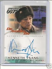 "James Bond ""Die Another Day""  A8 Kenneth Tsang auto card"