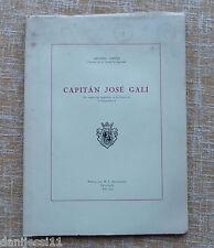 Capitán José Galí/ Antonio Carner/ Igualada/ 1970