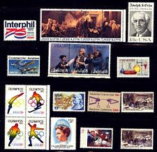 1976 US Commemorative Stamp Year Set Mint NH