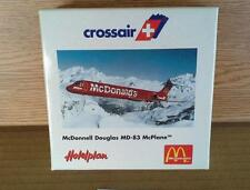 NEW HERPA WINGS CROSSAIR MCDONNELL DOUGLAS MD-83 MCPLANE MCDONALD'S 1:500 MIB