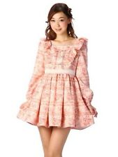Liz Lisa Limited My Melody Dress Floral Lucky Bag Cocktail Long Sleeve Snidel